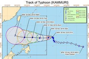 Tránh siêu bão Kammuri, đoàn thể thao Việt Nam đổi ngày bay