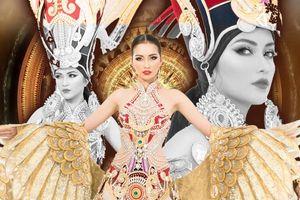 Ngọc Châu rạng rỡ trình diễn trang phục dân tộc Lạc vũ nhưng rớt giải, Mexico giành chiến thắng