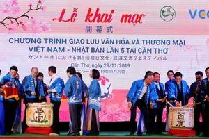 Khai mạc Chương trình giao lưu văn hóa Việt - Nhật lần thứ 5 tại Cần Thơ