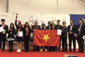 Việt Nam giành huy chương vàng cuộc thi sáng chế quốc tế INOVA 2019