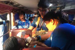 Đoàn thể thao Việt Nam gặp tai nạn trên đường tới dự lễ khai mạc SEA Games 30