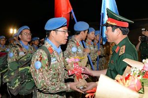 Bệnh viện Dã chiến cấp 2 của Việt Nam hoàn thành nhiệm vụ quốc tế