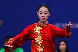Nữ võ sỹ wushu mang huy chương SEA Games 30 đầu tiên về cho đoàn Việt Nam