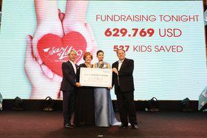 14,5 tỷ đồng hỗ trợ các em bé phẫu thuật, chữa trị dị tật tim bẩm sinh