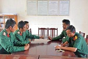 Nhiều biện pháp hạn chế tình trạng quân nhân vay, mượn, nợ