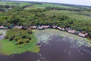 Trằm Trà Lộc 'lọt mắt xanh' nhà đầu tư du lịch sinh thái nghỉ dưỡng