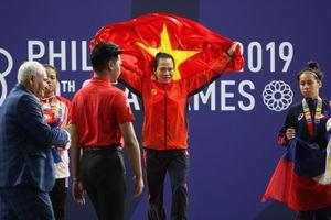 SEA Games ngày 1/12: Cử tạ lập cú đúp HCV cho Việt Nam