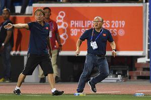 HLV Park Hang Seo và 'vũ điệu giận dữ' ở trận gặp Indonesia