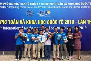 Học trò Newton thắng lớn trong kỳ thi Olympic Toán học và Khoa học quốc tế 2019