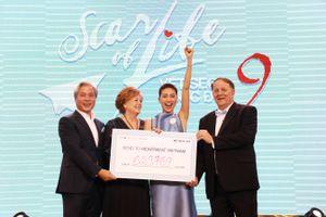 'Vết sẹo cuộc đời 9' vượt kỳ vọng với hơn 14,5 tỉ đồng quyên góp