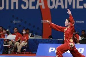 Wushu giành huy chương đồng tại SEA Games 30