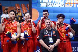 Chiến tích phi thường trong lịch sử bóng rổ Việt Nam với tấm huy chương đầu tiên tại SEA Games