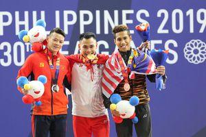 Thạch Kim Tuấn về nhì môn cử tạ SEA Games 30