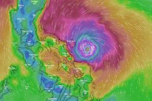 Bão Kammuri sắp đổ bộ vào Philippines, đe dọa SEA Games 30