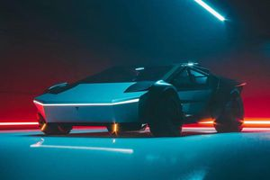 Siêu xe Cyber Roadrunner học tập thiết kế của Tesla Cybertruck