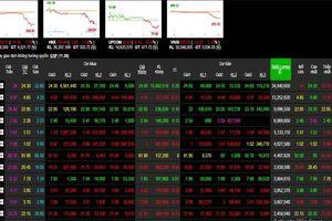 Phiên 2/12: Lực bán ồ ạt - sắc đỏ bao phủ sàn điện tử, VN-Index lao dốc