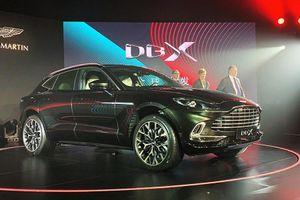 'Soi' siêu SUV Aston Martin DBX mới với màu sơn đặc biệt