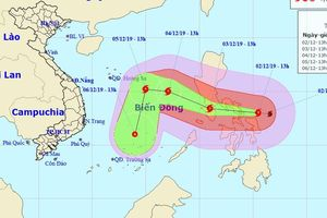 Bão giật cấp 17 tiến nhanh vào biển Đông, loạt tỉnh cần chủ động ứng phó