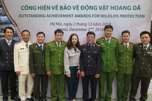 Vinh danh những 'người hùng' trong công tác bảo vệ động vật hoang dã