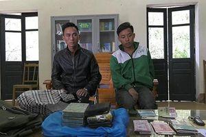 Bắt giữ 2 đối tượng vận chuyển heroin khu vực biên giới Lào Cai