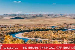 Vẻ đẹp của thảo nguyên Mông Cổ ngày thu