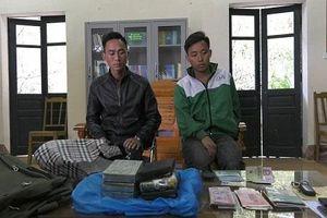 Đồn Biên phòng Si Ma Cai bắt 2 đối tượng vận chuyển 6 bánh hê-rô-in