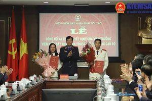 Công bố quyết định của Viện trưởng VKSND tối cao về công tác cán bộ