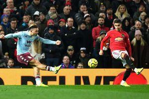 Chia điểm với Aston Villa, MU chôn chân ở vị trí thứ 9 Premier League
