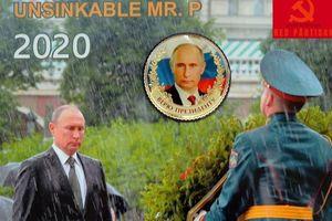 Chiêm ngưỡng bộ lịch Putin 2020: Style cởi trần là quá khứ!