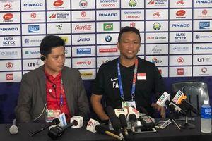 HLV U-22 Singapore nói gì sau trận thua U-22 Việt Nam?