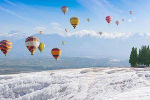 Lạc vào miền tuyết trắng tại Thổ Nhĩ Kỳ