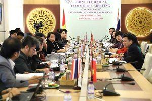 Đoàn đại biểu TTXVN thăm và làm việc tại Thái Lan