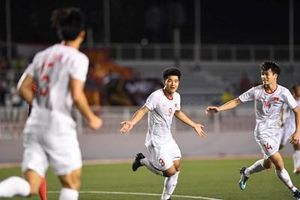 U22 Việt Nam giành chiến thắng tối thiểu trước U22 Singapore