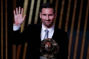 Cầu thủ Messi giành danh hiệu Quả bóng vàng 2019