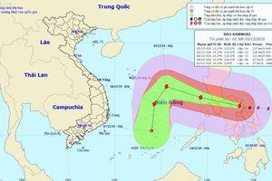 Bão Kammuri có ảnh hưởng tới trận U22 Việt Nam - U22 Singapore?