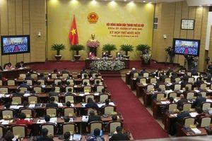 Khai mạc Kỳ họp thứ 11 HĐND TP Hà Nội khóa 15