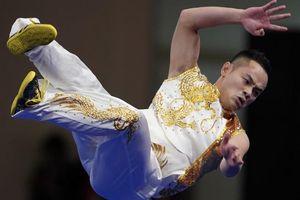 Quốc Khánh múa Nam quyền, giành huy chương vàng SEA Games