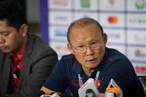 Thắng nhọc Singapore, thầy Park thừa nhận 'Việt Nam có trận đấu khó'