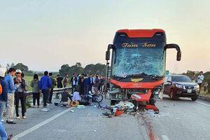 Một phụ nữ tử vong trên cao tốc Hà Nội - Bắc Giang sau tai nạn liên hoàn
