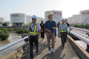 Nhà đầu tư tìm hiểu hoạt động của Xí nghiệp Tổng kho xăng dầu Nhà Bè – PVOIL
