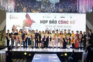 Vén màn chuỗi hoạt động hấp dẫn tại Tuần lễ thời trang và làm đẹp quốc tế Việt Nam 2019