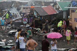 Siêu bão đổ bộ Philippines, 1 người thiệt mạng, nhiều môn thi đấu SEA Games bị hoãn
