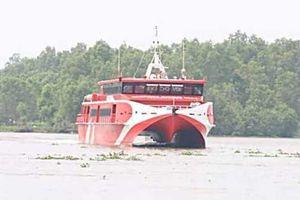 Kiên Giang: Tàu cao tốc tạm dừng hành trình, cứu 4 người trôi dạt trên biển