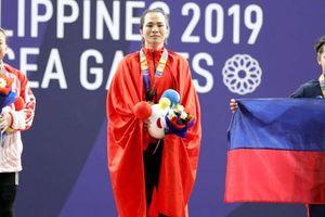 Đô cử nuốt nước mắt giành HCV SEA Games 30