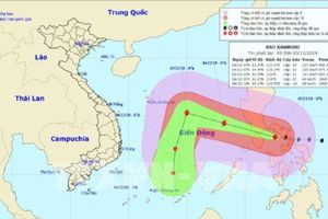 Bão Kammuri vào Biển Đông, trở thành cơn bão số 7 trong năm