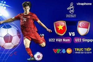 U22 Việt Nam - U22 Singapore: Tiệm cận tấm vé bán kết