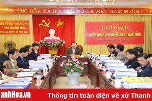 Thống nhất nội dung chất vấn tại Kỳ họp thứ 11, HĐND tỉnh khóa XVII