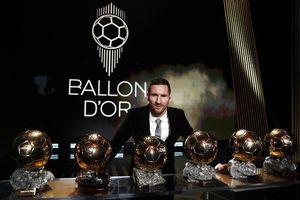 Kỷ lục mới ghi danh Messi