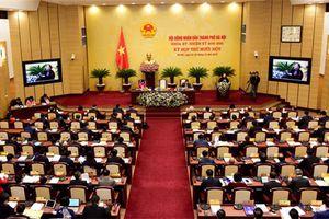 Phó Chủ tịch Quốc hội Uông Chu lưu dự khai mạc Kỳ họp thứ 11 Hội đồng nhân dân Thành phố Hà Nội