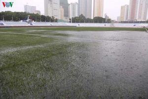 Phải đấu với U22 Singapore dưới trời mưa bão Kammuri, U22 Việt Nam sẽ gặp những khó khăn gì?